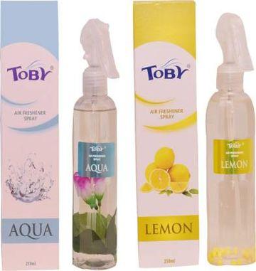 Toby | TOBY Aqua & Lemon Air Freshener (Room Spray) - (250mlx2)