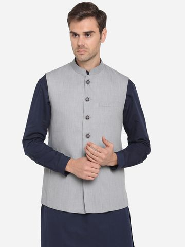 Modi Jacket | MJK120-LIGHT GREY SELF