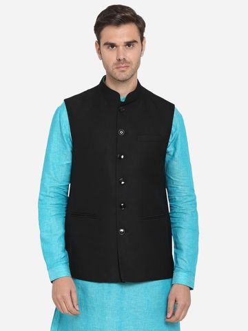 Modi Jacket | MJK092/1-JET BLACK TEXTURED