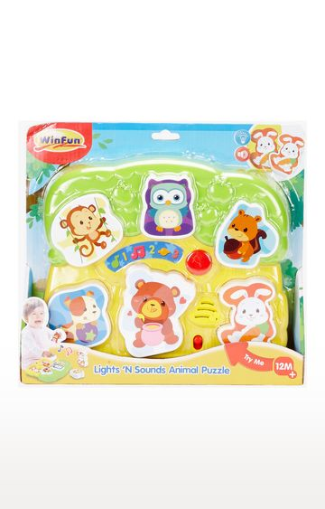 Mothercare | Winfun Light And Sound Animal Puzzle