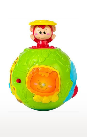 Mothercare | Winfun Roll N Pop Jungle Activity Ball