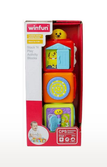 Mothercare | Winfun Stack N Play Activity Blocks