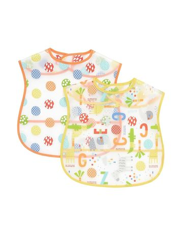 Mothercare | Hello Friend Toddler Crumbcatcher Bibs - Pack of 2