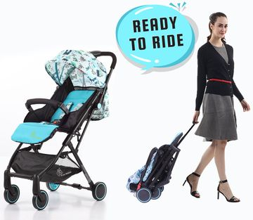 Mothercare | R For Rabbit Pocket Lite Baby Strollers Blue