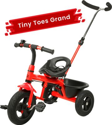 Mothercare | R For Rabbit Tiny Toes - Grand Baby Tricycles Red