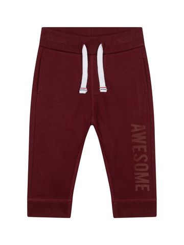 Mothercare | Maroon Solid Casual Joggers
