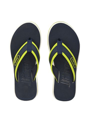 Hirolas | Hirolas Fabrication embossed Flip-Flop Slippers - Blue