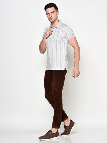 OCTAVE   Men TAN Trousers