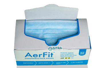 Aerfit   AerFit Disposable Surgical 3ply Face Masks