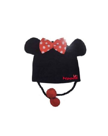 Mothercare   Kidsville Girls Beanie Minnie mouse-Black