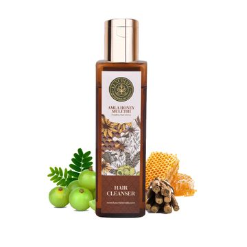LUXURIATE | LUXURIATE Amla Honey Hair Cleanser Shampoo for Hair Fall Control and healthy Scalp Hair for Men and Women, 200 ml