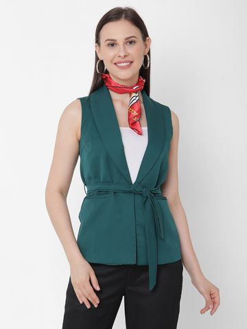 Get Wrapped | Get Wrapped Printed Satin Neck Scarf for Women