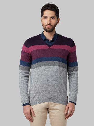 Park Avenue | Multicoloured Striped Sweater