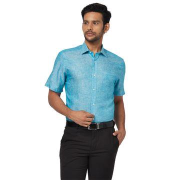 Park Avenue | Park Avenue Green Formal Shirt