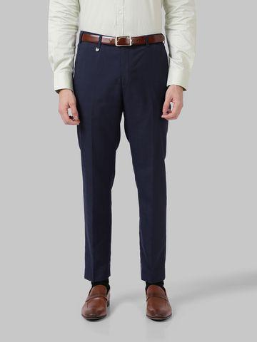 Park Avenue | Park Avenue Dark Blue Super Slim Fit Trouser