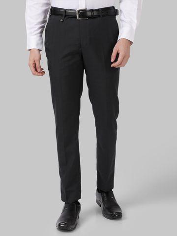 Park Avenue | Park Avenue Black Super Slim Fit Trouser