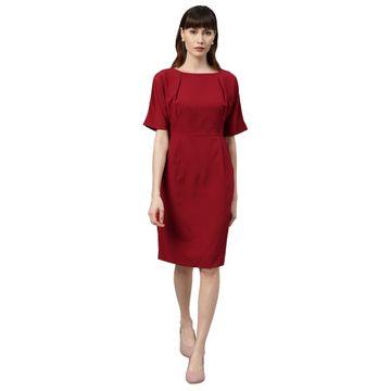 Park Avenue | Park Avenue Dark Red Dress