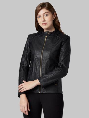 Park Avenue   Park Avenue Women Black Jacket