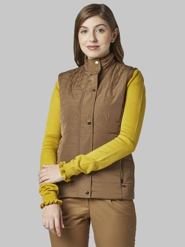 Park Avenue | Park Avenue Woman Dark Yellow Jacket