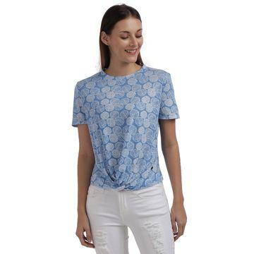 Parx Woman | Parx Woman Light Blue Top