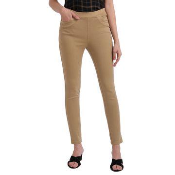 Parx Woman | Parx Woman Beige Jeans
