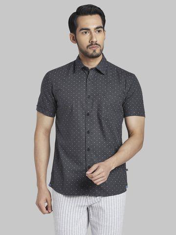 PARX   PARX Grey Casual Shirt