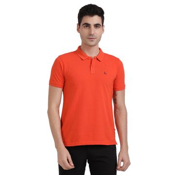 PARX   XMKB04733E5 Medium Orange T-Shirt