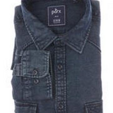 PARX   Parx Dark Blue Shirt