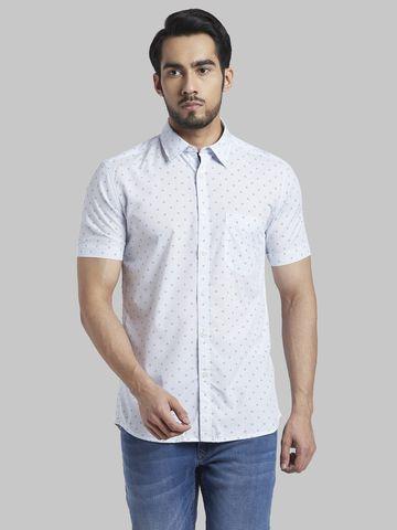 PARX | Parx Dark Blue Slim Fit Shirt