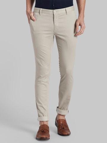 PARX | XMTS02808F2 Beige Formal Trousers