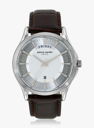 Pierre Cardin | Pierre Cardin A.PC902241F01U Botzaris Homme SS Brown Analog Watch