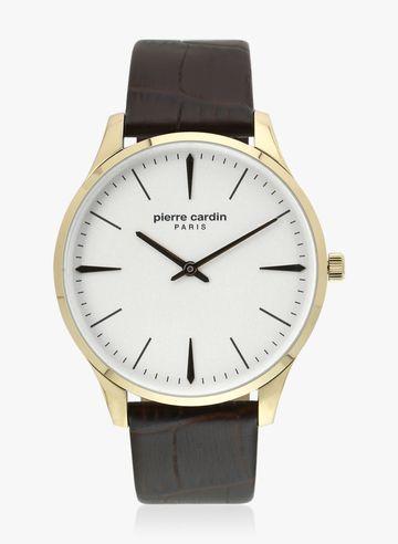 Pierre Cardin | Pierre Cardin A.PC902271F03U La Gloire Nouvelle Homme GP Brown Analog Watch