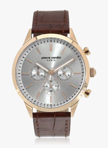 Pierre Cardin | Pierre Cardin A.PC902361F04U Odéon RG Brown Analog Watch