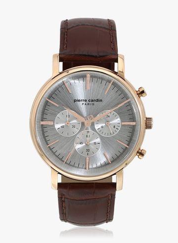 Pierre Cardin | Pierre Cardin A.PC902371F04U Duroc RG Brown Analog Watch