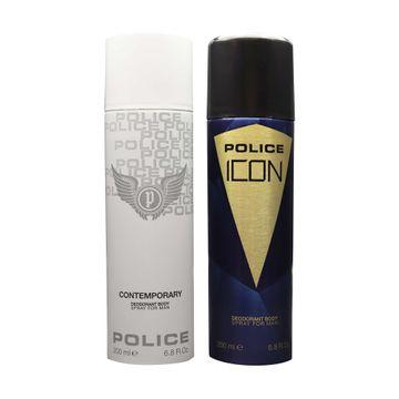 POLICE | Contemporary and Icon Deodorant Spray - For Men 400 ML