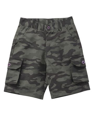 Popsicles Clothing | Popsicles Military Shorts Regular Fit For Boys