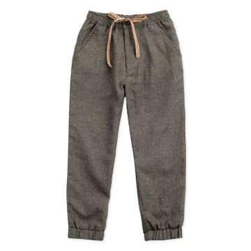 Popsicles Clothing | Popsicles Boys Melange Melange Joggers Pants - Dk Grey (1-2 Years)