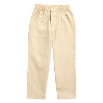 Popsicles Clothing | Popsicles Boys Linen Sand Lounge Pants - Beige