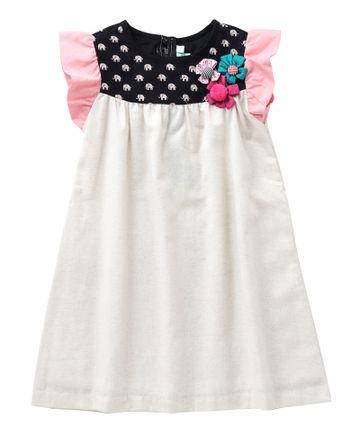 Popsicles Clothing | Popsicles Alabaster Dress Regular Fit Dress For Girl