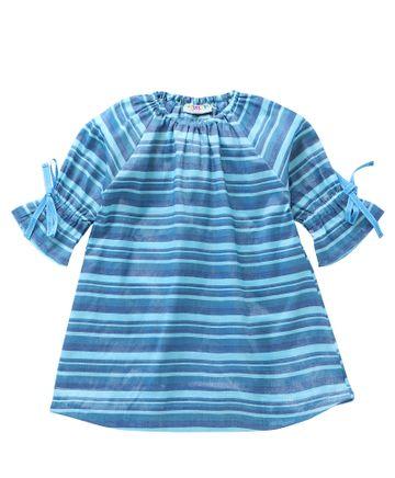 Popsicles Clothing | Popsicles Ocean Dress Regular Fit Dress For Girl
