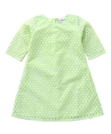 Popsicles Clothing | Popsicles Seafoam Dress Regular Fit Dress For Girl