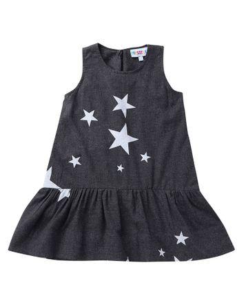 Popsicles Clothing | Popsicles Starry Dress Regular Fit Dress For Girl