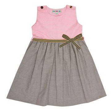 Popsicles Clothing | Popsicles Sage Souffle Dress Regular Fit Dress For Girl