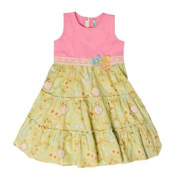 Popsicles Clothing | Popsicles Snowdrift Dress Regular Fit Dress For Girl