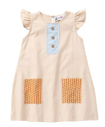 Popsicles Clothing | Popsicles Scastle Dress Regular Fit Dress For Girl