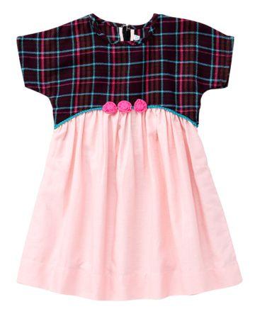 Popsicles Clothing | Popsicles Ballet Dress Regular Fit Dress For Girl