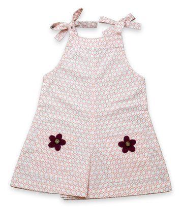 Popsicles Clothing | Popsicles Sassy Playsuit Regular Fit Dress For Girl