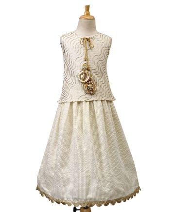 Popsicles Clothing | Popsicles Girls-Choli Set-Sizechart Regular Fit Dress For Girl