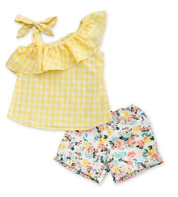 Popsicles Clothing | Popsicles Honeydew Set Regular Fit Dress For Girl