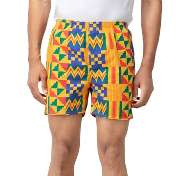 Whats Down | Yellow Tribal Boxers
